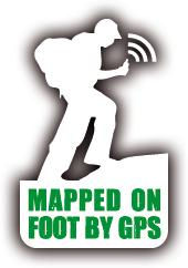 mappedonfootbygps